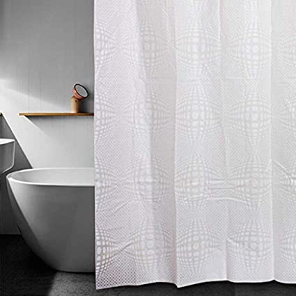 Hookless Clear Shower Curtain.Amazon Com Liangsm Shower Curtain Hookless 3d Waterproof