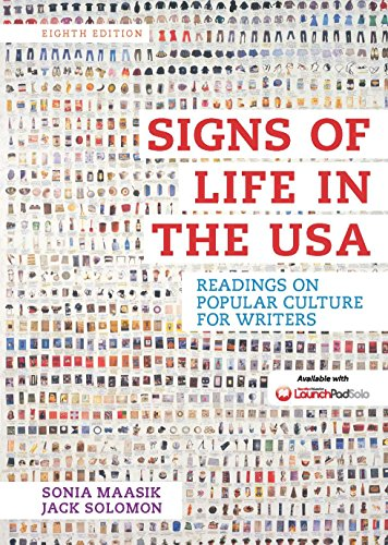 Signs of Life in the USA: Readings on Popular Culture for Writers Pdf