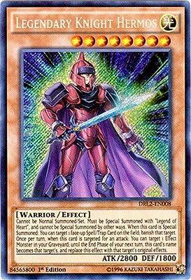 Yu-Gi-Oh! - Legendary Knight Hermos (DRL2-EN008) - Dragons of Legend 2 - 1st Edition - Secret Rare