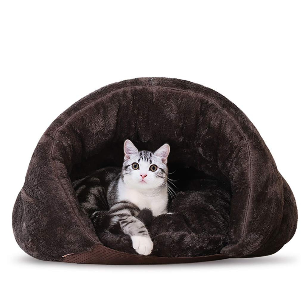 605040cm OrderSoil Cat Cat Litter Closed Four Seasons Cat Sleeping Bag Pet House House Nest Cat Supplies Doghouse Small Dog Removable And Washable