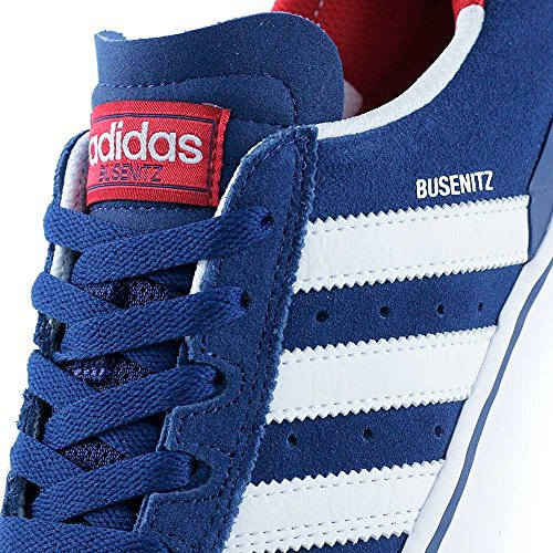 adidas Skateboarding Busenitz Vulc ADV, mystery blue-ftwr white-scarlet Mystery Blue/White/Scarlet