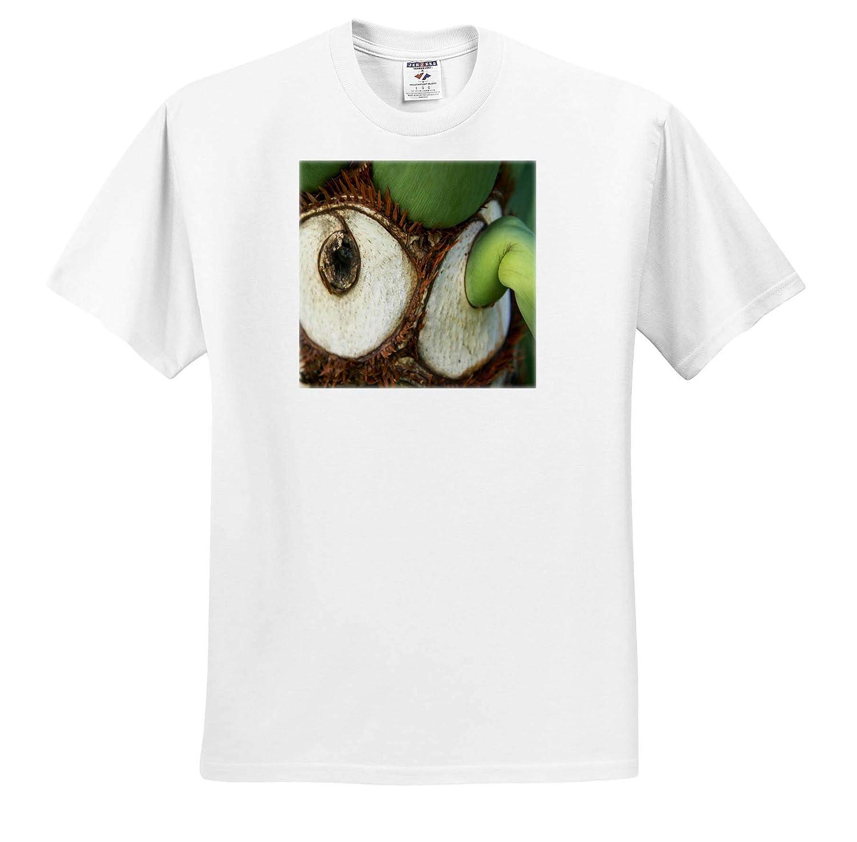 Fantastic Florida Image of One Eyed Plant in Macro T-Shirts 3dRose Lens Art by Florene