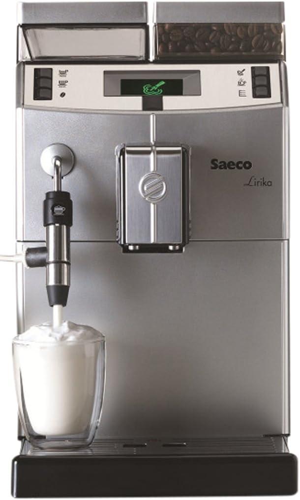 Máquina de Café Saeco Lirika Plus Silver Espresso Automática