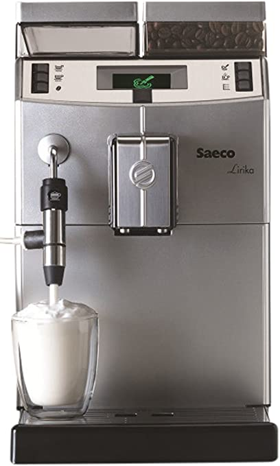 Saeco Lirika Macchiato Independiente Totalmente automática Máquina espresso 2.5L 15tazas Acero inoxidable - Cafetera (Independiente, Máquina espresso, 2,5 L, Molinillo integrado, 1850 W, Acero inoxidable): Amazon.es: Hogar