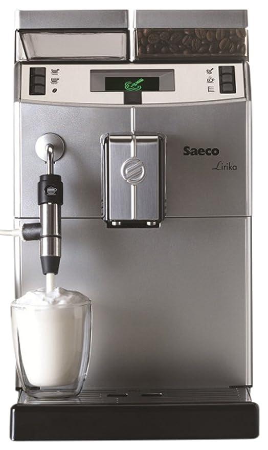 Saeco Lirika Macchiato Independiente Totalmente automática Máquina espresso 2.5L 15tazas Acero inoxidable - Cafetera (