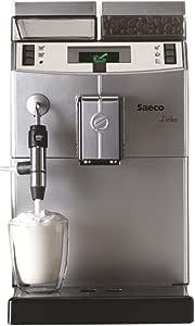 Saeco Lirika Macchiato Independiente Totalmente automática Máquina espresso 2.5L 15tazas Acero inoxidable - Cafetera (Independiente, Máquina espresso, 2,5 L, Molinillo integrado, 1850 W, Acero inoxidable): Amazon.es: Hogar