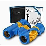 Vanstarry Optics Antiurto 8X21 Bambini Binocolo Impostato- Uccello Guardando- Educativo Apprendimento- A caccia- Escursionismo- Compleanno Regali- I regali per Bambini- All'aperto Giocare- giocattoli