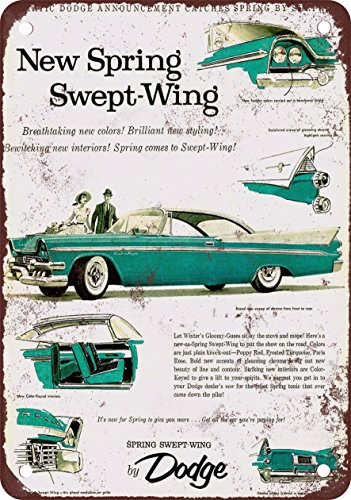1958 Dodge Spring Swept-Wing - Vintage Look Reproduction