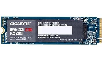 GIGABYTE NVMe SSD 1 TB NVMe 1.3 M.2 2280: Gigabyte: Amazon.es ...
