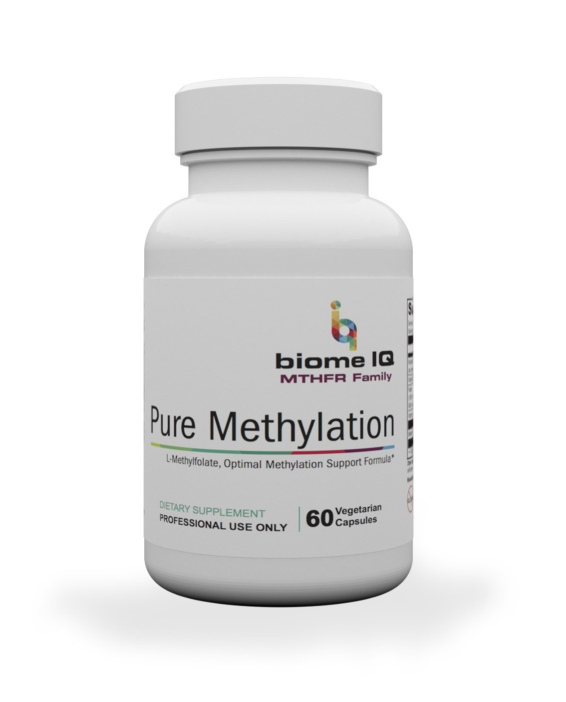 Pure Methylation - A super B-complex designed for individuals with methylation deficiencies