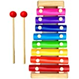 Little Monkey Wooden Xylophone Musical Toy for Children with 8 Note (Big Size)