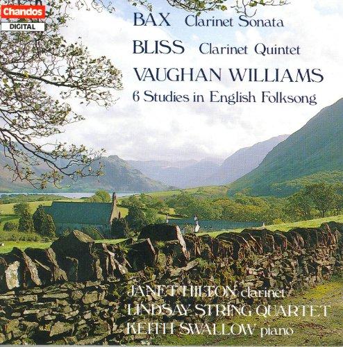 Vaughan Williams Folk Song (Bax: Clarinet Sonata / Bliss: Clarinet Quintet / Vaughan Williams: 6 Studies in English Folksong)