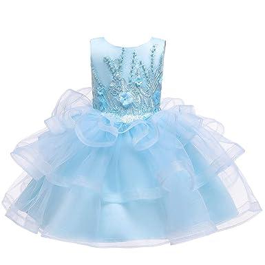 Vestido Comunion Niña Vestidos para Niña Dama de Honor Fiesta ...