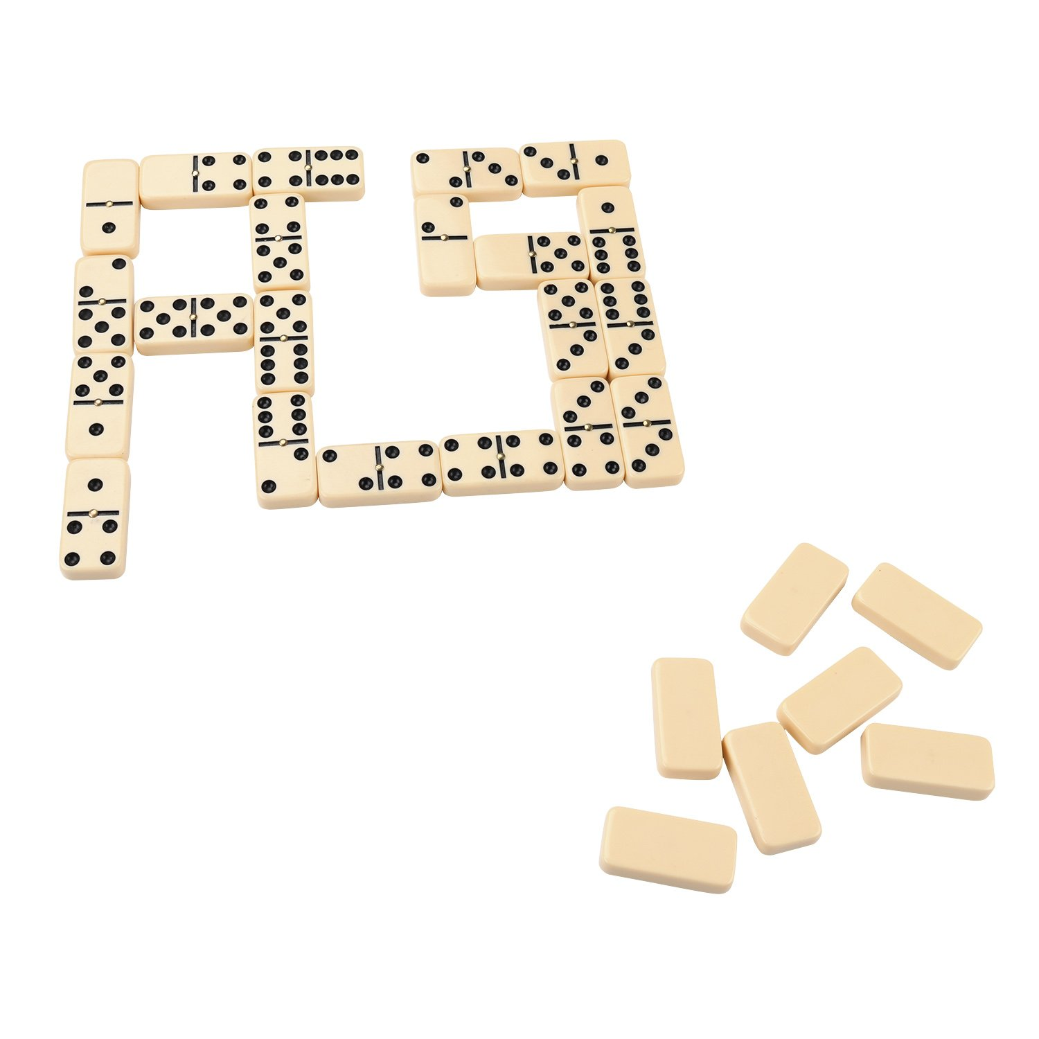 Amazon.com: Double 6 Dominoes Set for Kids in Home or School ...