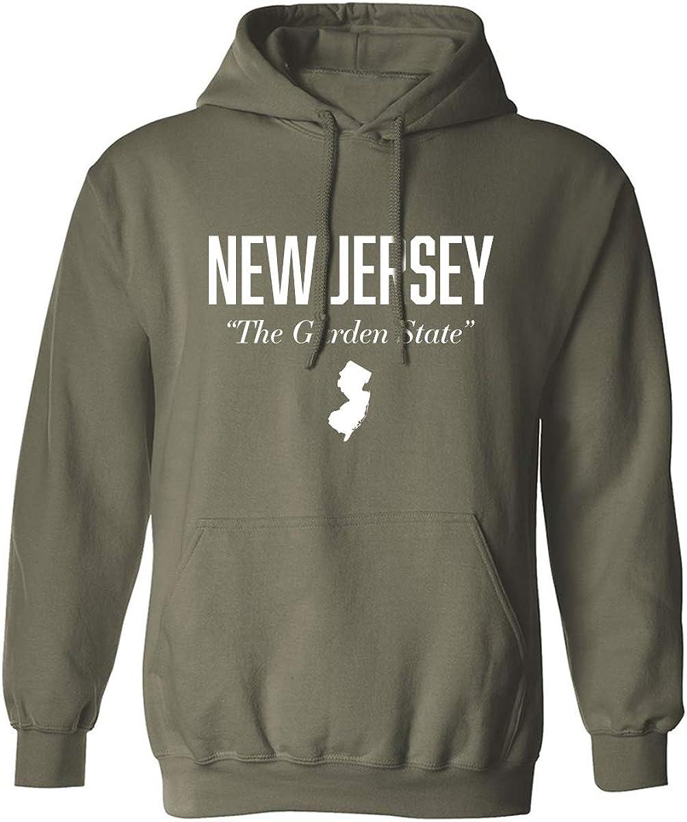 zerogravitee New Jersey The Garden State Adult Hooded Sweatshirt