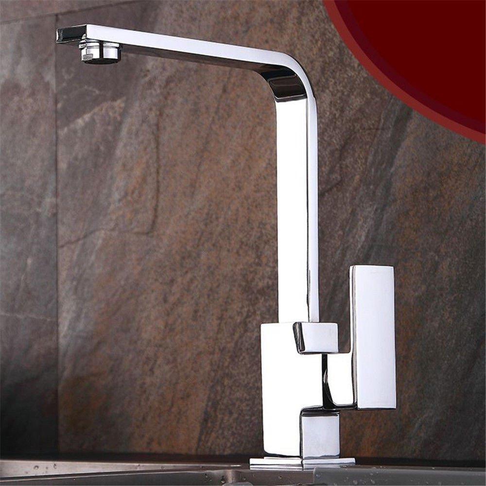 NewBorn Faucet Wasserhähne Warmes und Kaltes Wasser Größe Qualität Kaltes Wasser Leitungswasser aus Massivem Messing Küche Wasser Waschbecken Mischbatterie