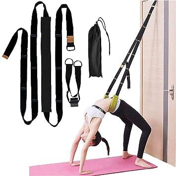 Amazon.com : Beser Lee Yoga Fitness Stretching Strap - Back ...