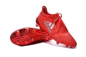SusranZast Shoes Mens X 16+ Purechaos FGAG Red Soccer Football Boots