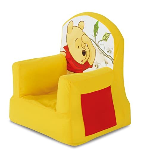 Winnie The Pooh Inflatable Cosy Chair With Side Pocket