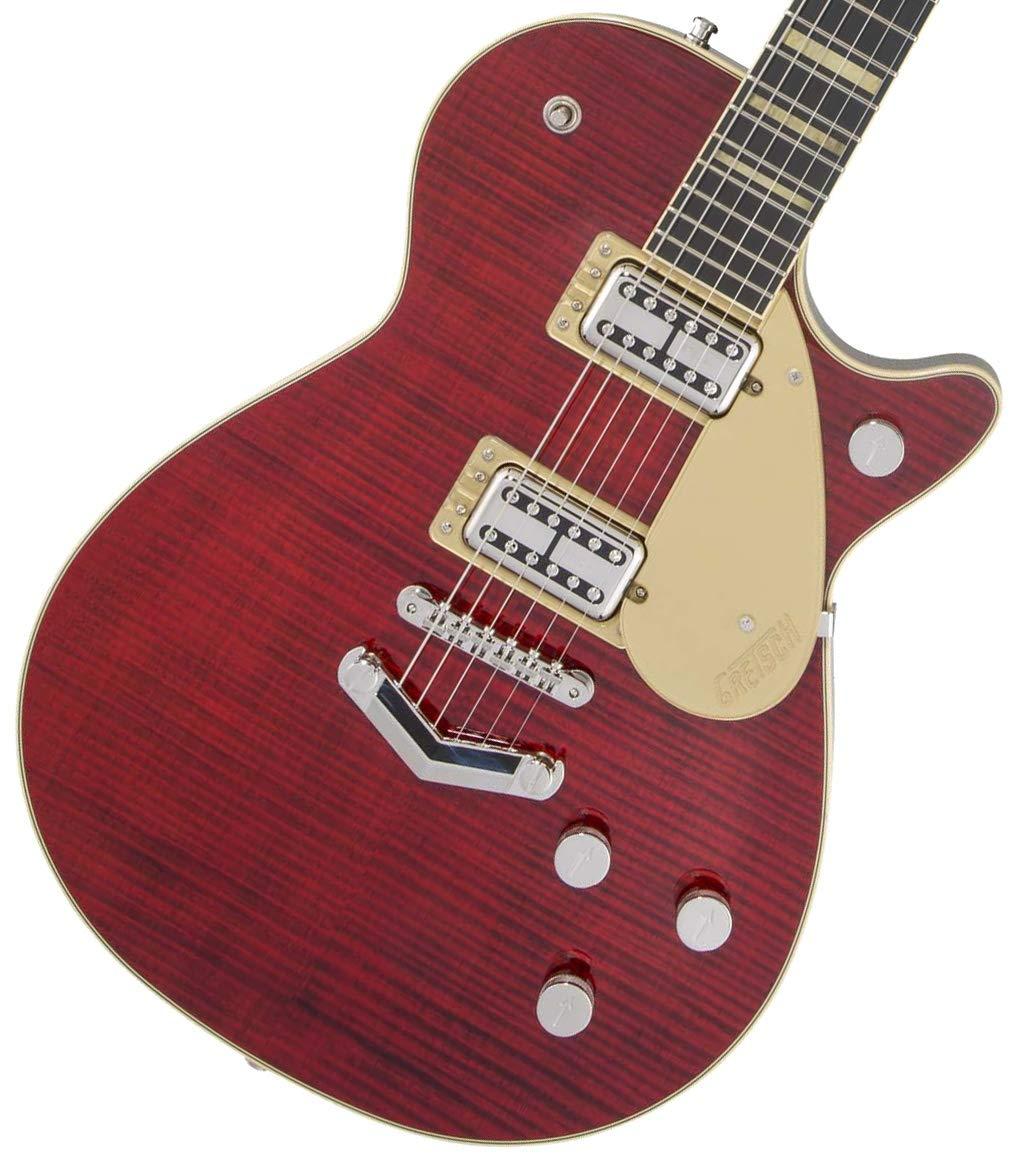 Gretsch / G6228FM Players Edition Jet BT with V-Stoptail Crimson Stain   B07QKSHXZG