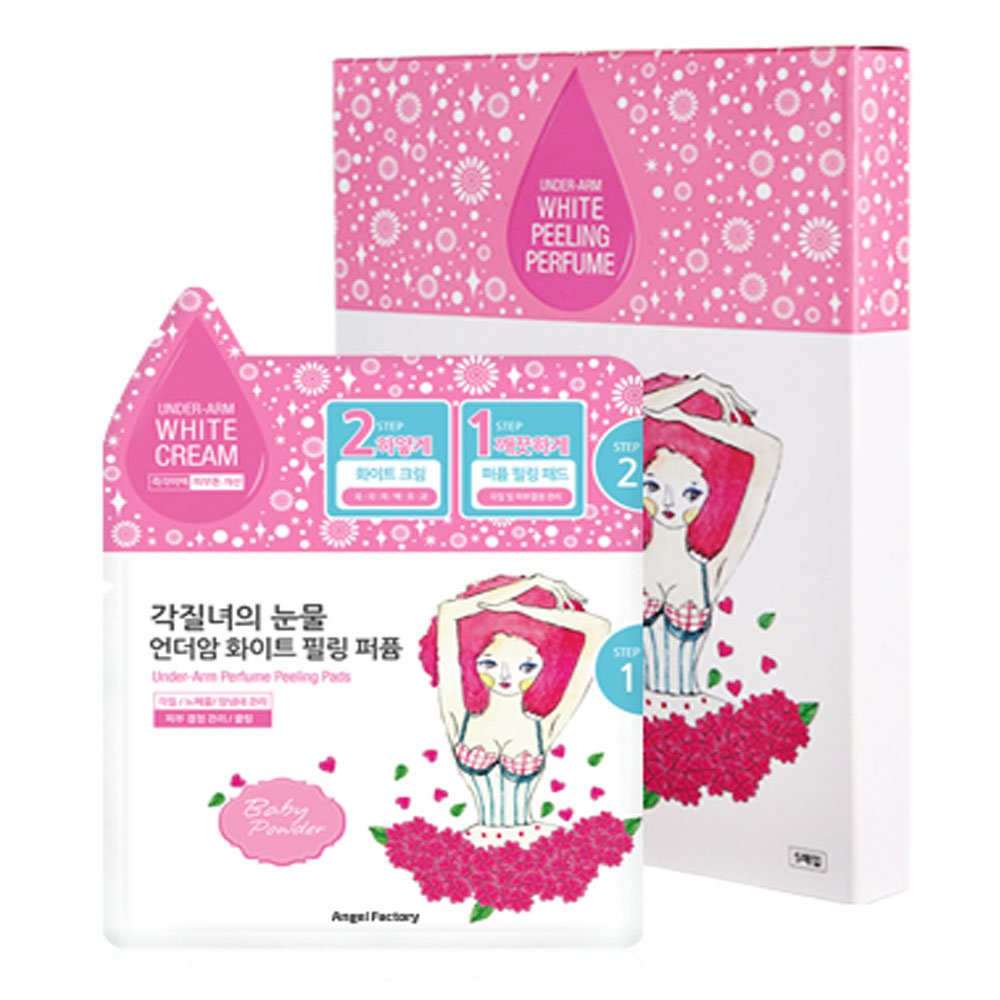 AngelFactory Under-Arm White Cream Perfume Peeling Pads