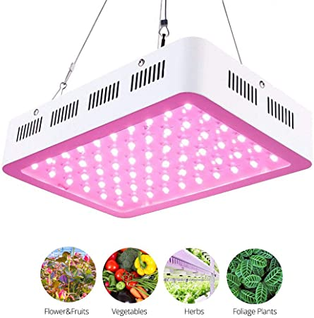 Roleadro Led Pflanzenlampe 300w Pflanzenlicht Vollspektrum Led Grow Light Mit Ir Uv Licht Fur Gewachshaus Pflanzen Gemuse Und Blute Amazon De Garten