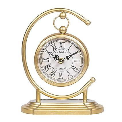 Steaean Reloj Despertador Reloj de sobremesa Reloj de sobremesa Relojes de la Sala de Estar Relojes