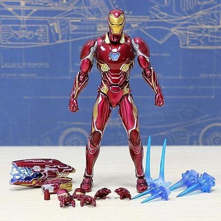Decoración de escritorio Juguetes - Marvel Iron Man MK50 ...