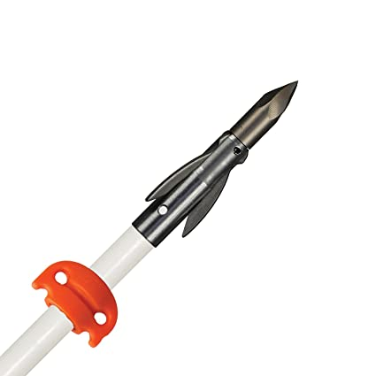 Amazon.com: AMS Bowfishing Flecha fibra de vidrio w/Ankor FX ...