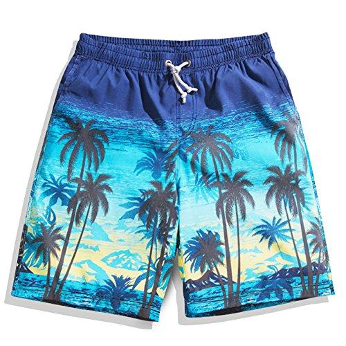 OME&QIUMEI Fast Dry Beach Pants Männer Badehose Badeanzug Strand Paar Größe Lose Boxer Shorts Hot Springs