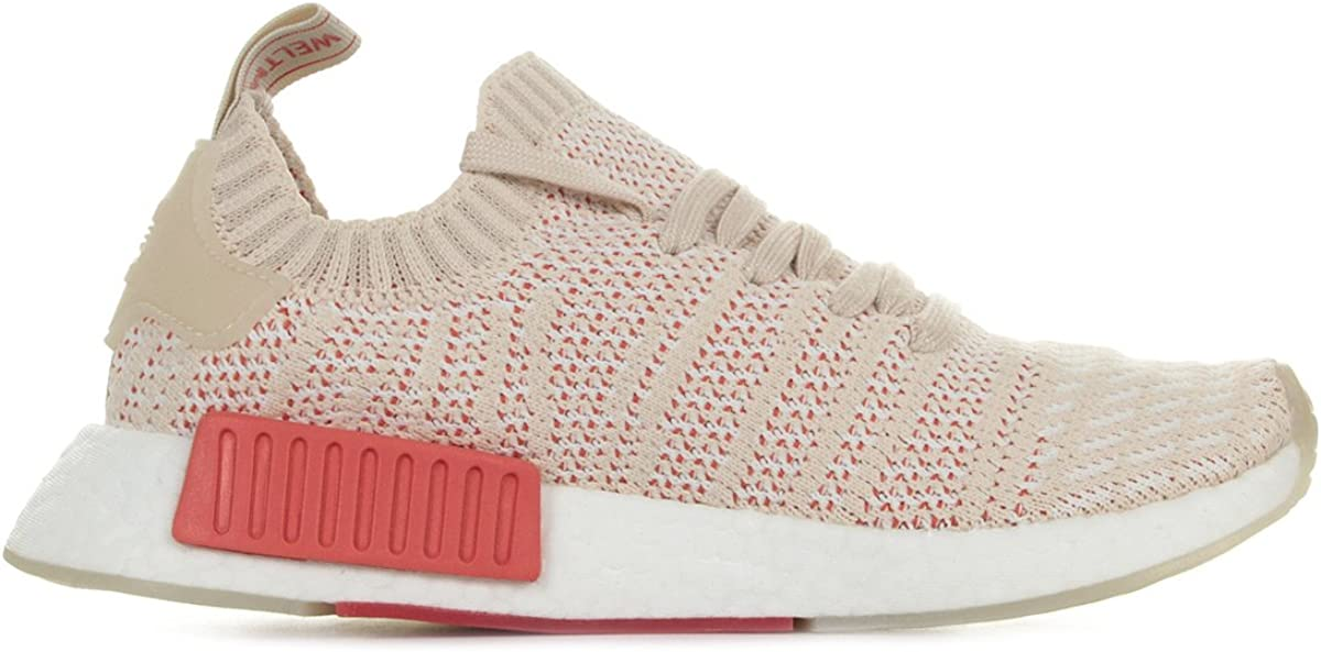 adidas Damen NMD_r1 Stlt Primeknit Sneaker Beige Linen Crystal 0