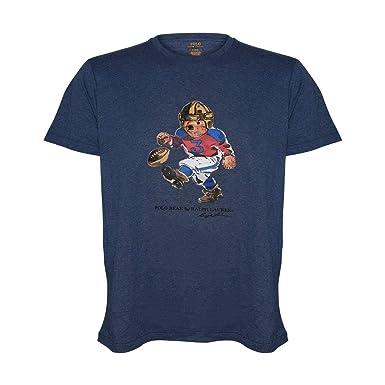 a9c79b7a4daa Amazon.com  Polo Ralph Lauren Mens Big   Tall Limited Polo Bear T-Shirt  Tee  Clothing