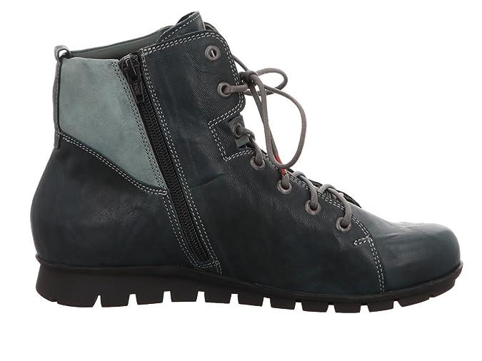 Think Menscha 81071-61 Damen Boots & Stiefeletten in Gr.: 37 Grün Dunkel YTnK8NecPG