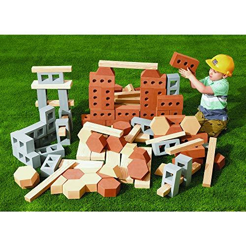 Construction Piece Set 30 (Excellerations Jumbo Foam Construction Set 99 Pieces (Item # ALLBUILD))