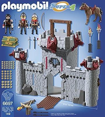 Amazon.com: Playmobil Super 4 Take along, Kit de ...