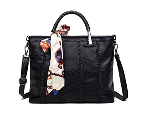 liibot Mujer Piel Auténtica Bolso bandolera bolso de mano bolso
