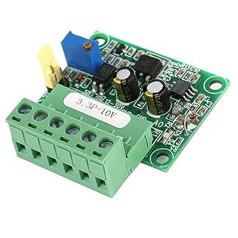 PWM To Voltage Converter Module 0/%-100/% to 0-5V//0-10V for Digital Analog SiNW DR