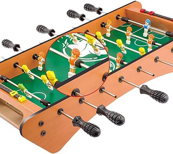 Hh001 Mesa de fútbol Mesa de Billar Juegos de Mesa Juego de Rompecabezas de Dibujos Animados Juguete Infantil Juguete Juego de Billar Regalo para niños (Color : Wood Color , Size :