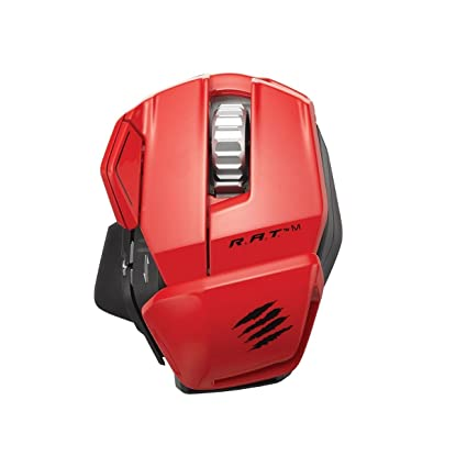 62bc1ce945e Mad Catz R.A.T. M Wireless Mobile Gaming Mouse for PC, Mac and Mobile  Devices