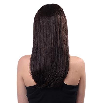 Cortes de pelo largo oscuro