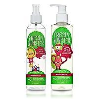 Fresh Monster Kid's Detangler (Combo with Shampoo, Watermelon)