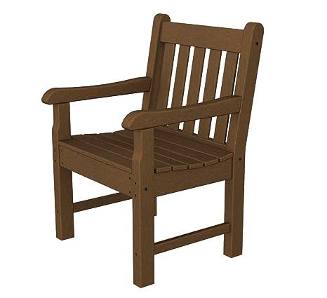 Amazon.com: Rockford Arm Chair, talla única , Teca: Jardín y ...