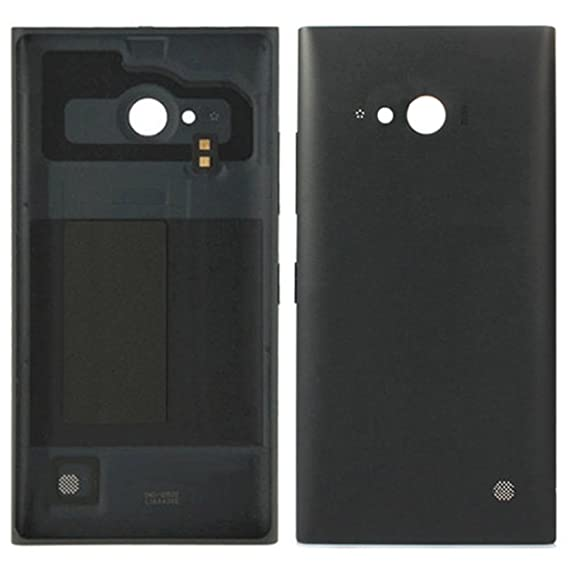 huge selection of 2908b dd402 iPartsBuy Replacement Battery Back Cover for Nokia Lumia 730(Black)