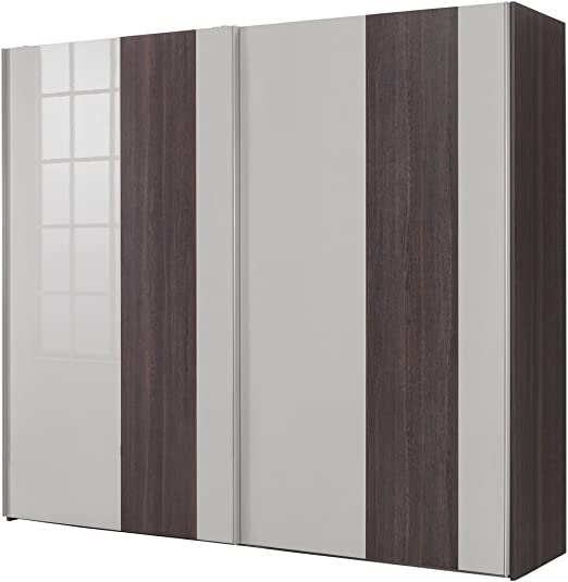 Composad Armario a 2 Puertas correderas Color Roble Nobile y Gris ...
