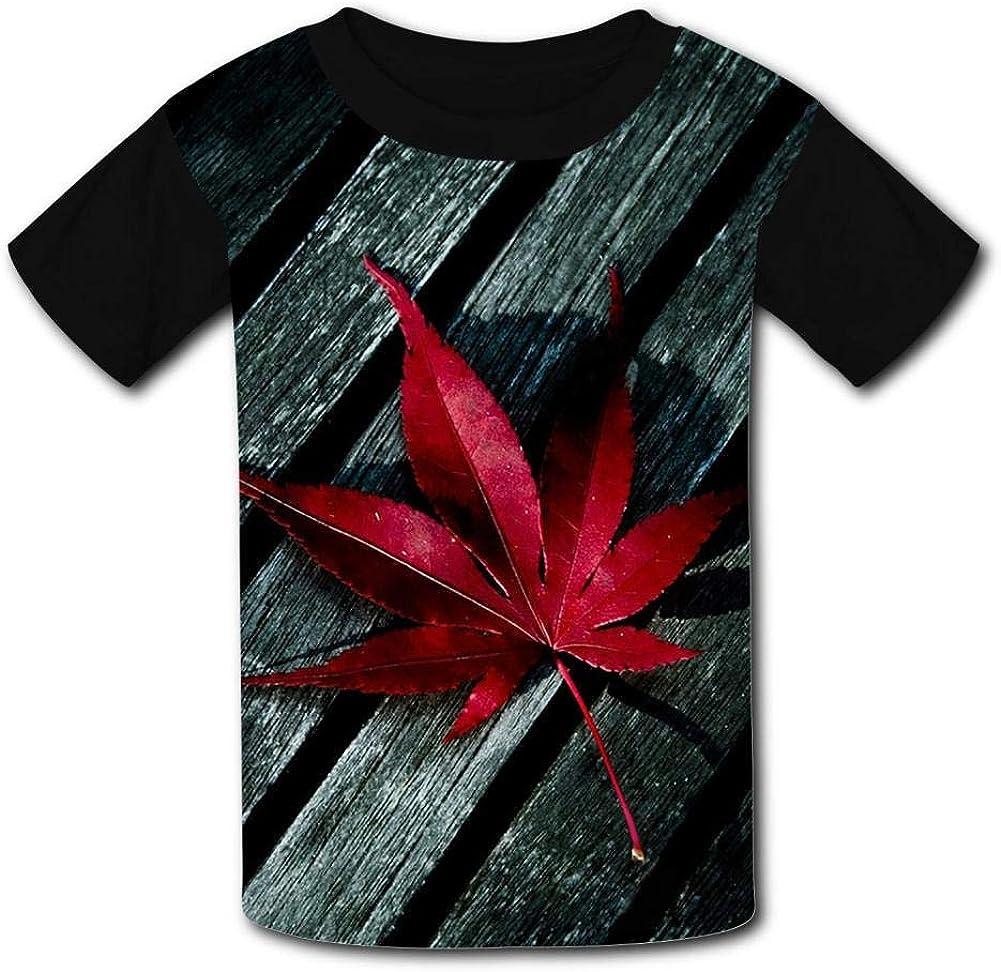redleaf/_mTEzIQPn Summer T-Shirt Childrens Fashion Simple and Comfortable