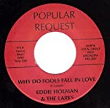 Never Let Me Go/Why Do Fools Fall In Love (NM 45 rpm)