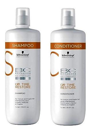 Schwarzkopf Bc Bonacure Q10 Plus Time Restore Duo Shampoo 1000ml