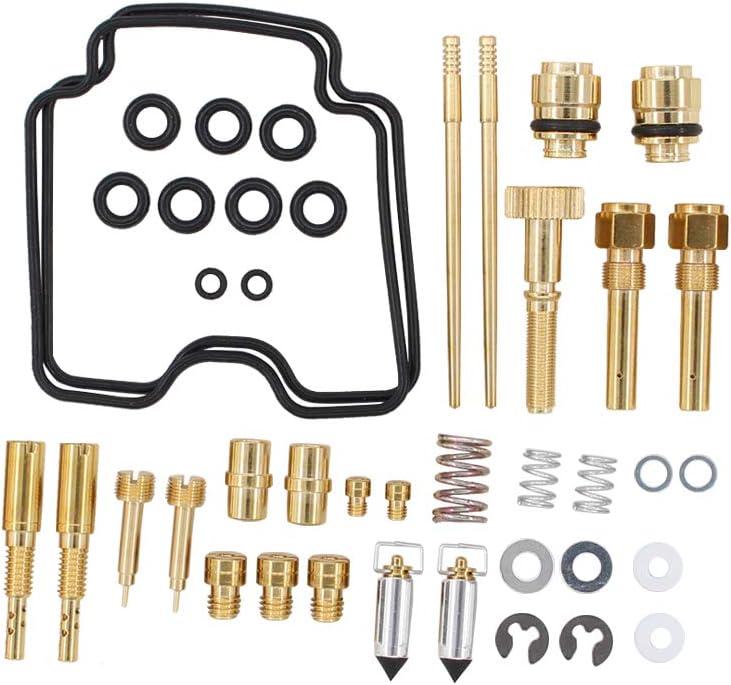 Carburetor Carby Rebuild Repair Kit For Yamaha Raptor 660 YFM660R 2001-2005 ATV