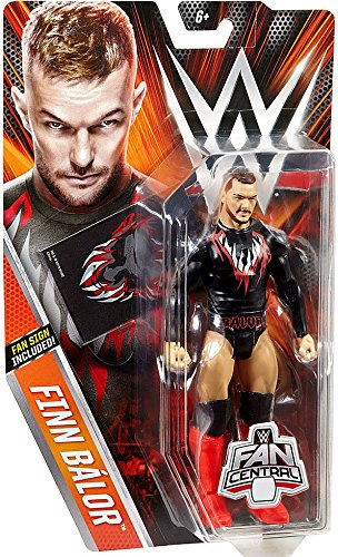 Amazon Com Wwe Basic Series Fan Central Finn Balor Exclusive Action