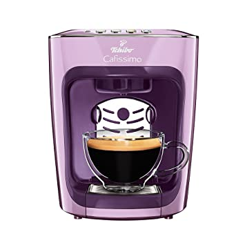 amazon popular brand great deals 2017 Tchibo Cafissimo Mini Kaffeemaschine, Poetry Purple